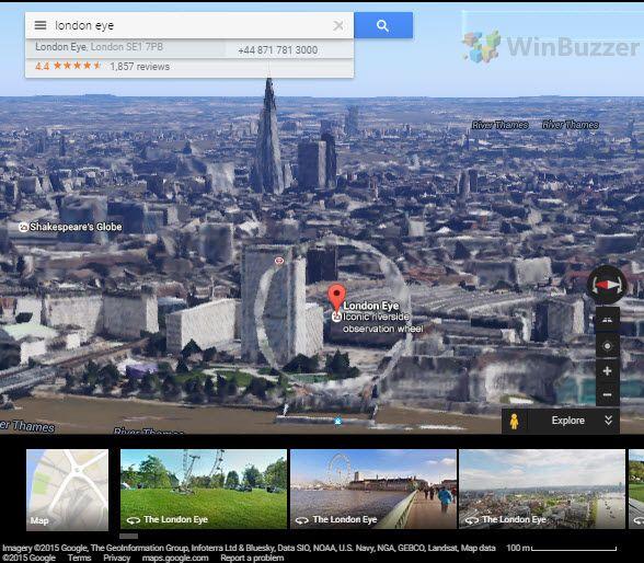 WebGL in Google Maps 3D_winbuzzer