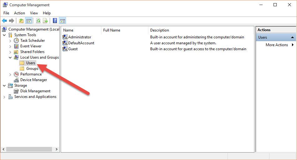 Windows 10 create add user account 006
