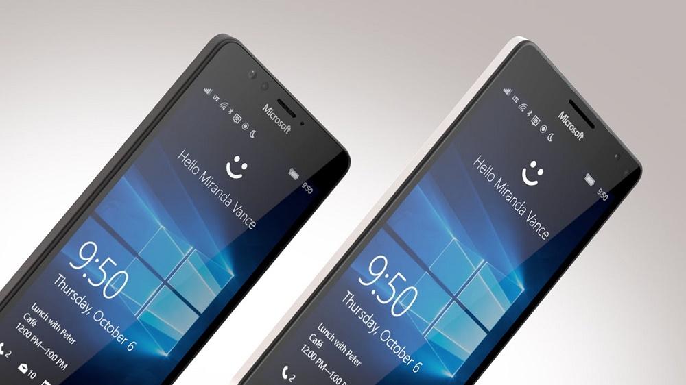 Lumia 950XL running Windows 10 Mobile