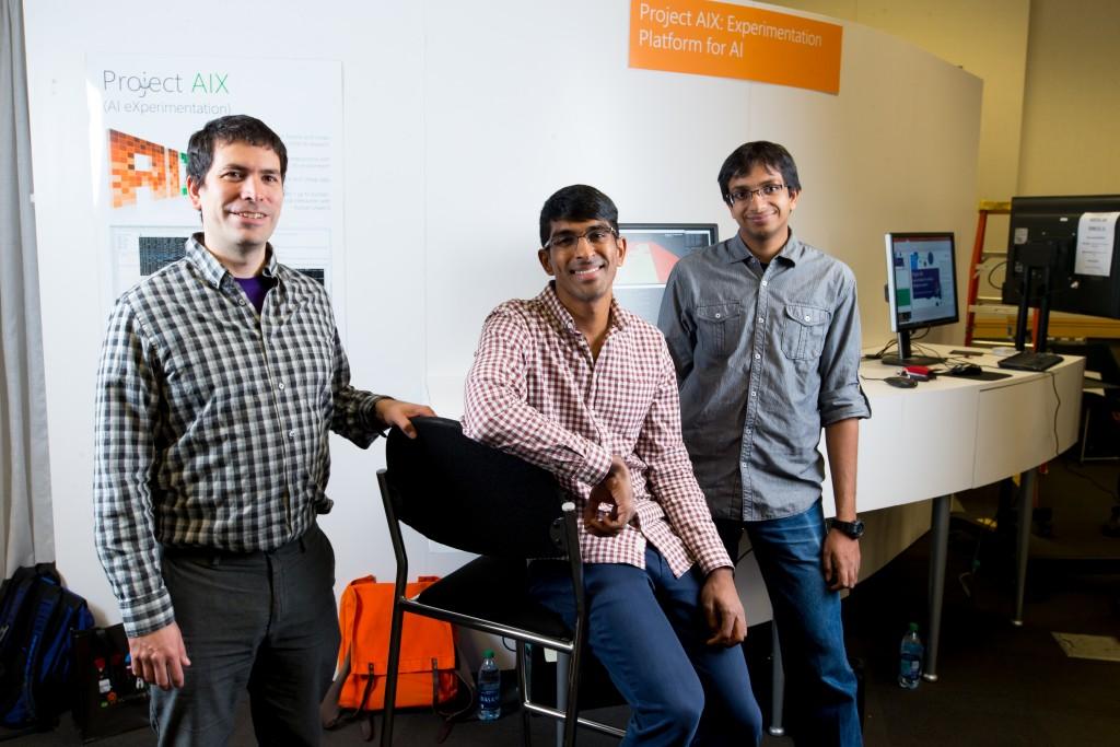 Project AIX researchers ernando Diaz, Akshay Krishnamurthy and Alekh Agarwal