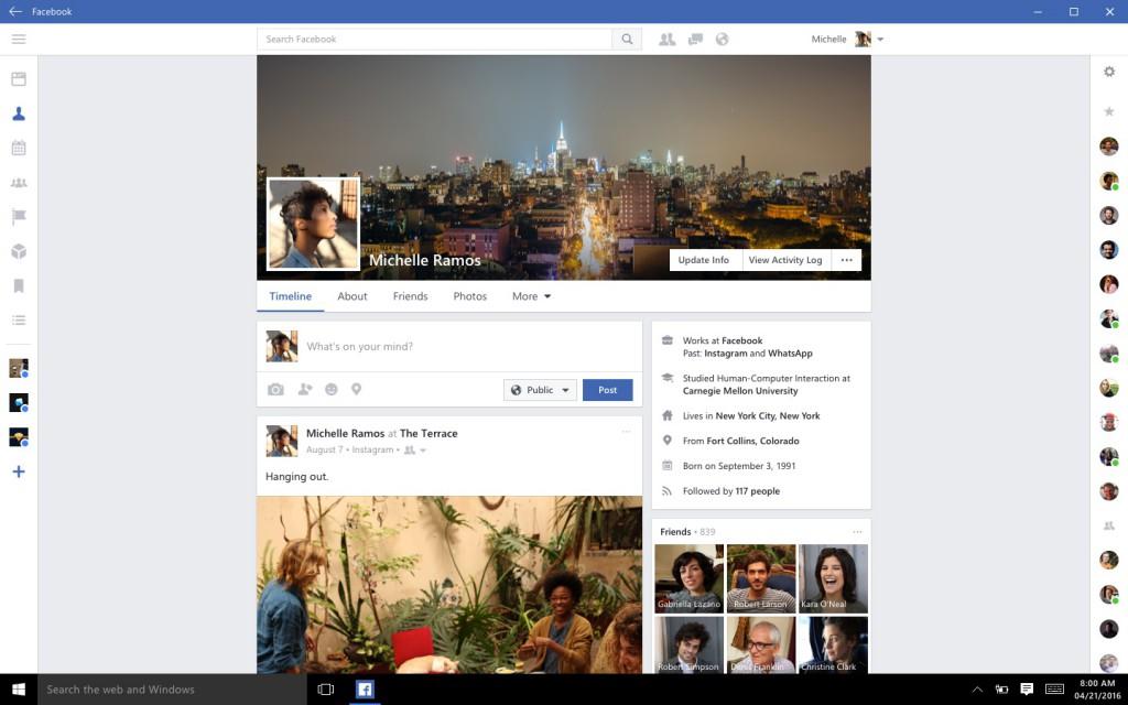 Facebook-App-Windows