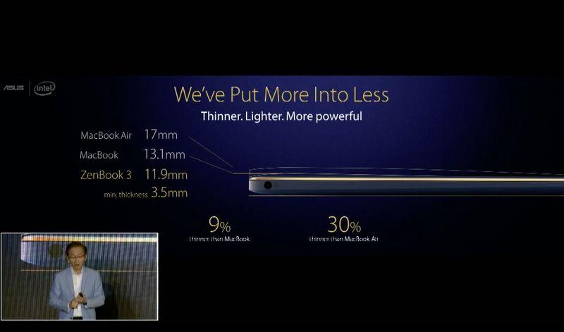 Asus-ZenBook-3-Presentations