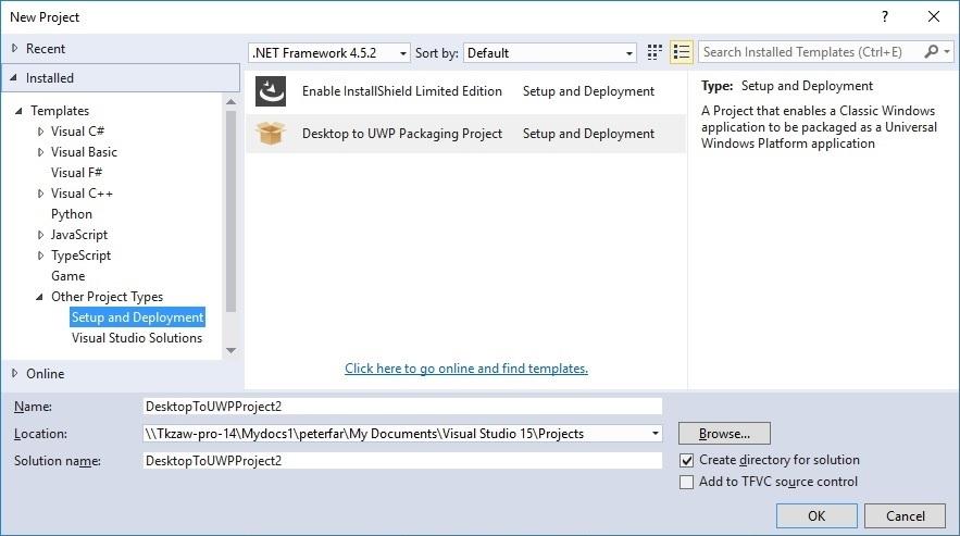 Visual-Studio-App-Converter