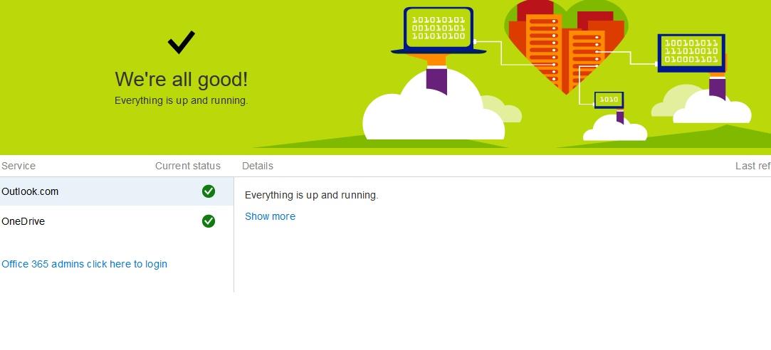 Outlook-Status-Microsoft-Office