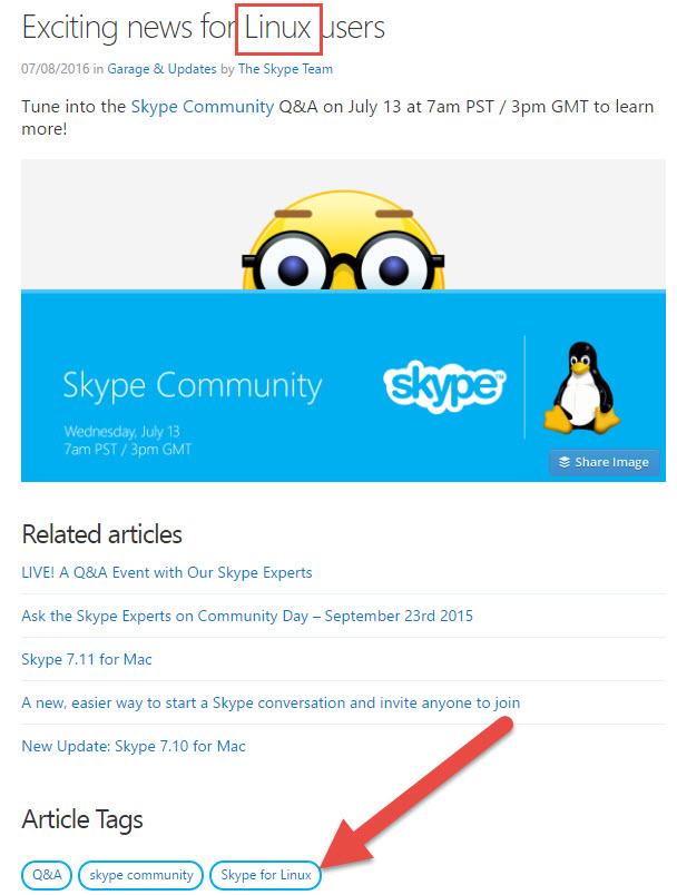 Microsoft Teases Long Awaited Skype for Linux Update - WinBuzzer