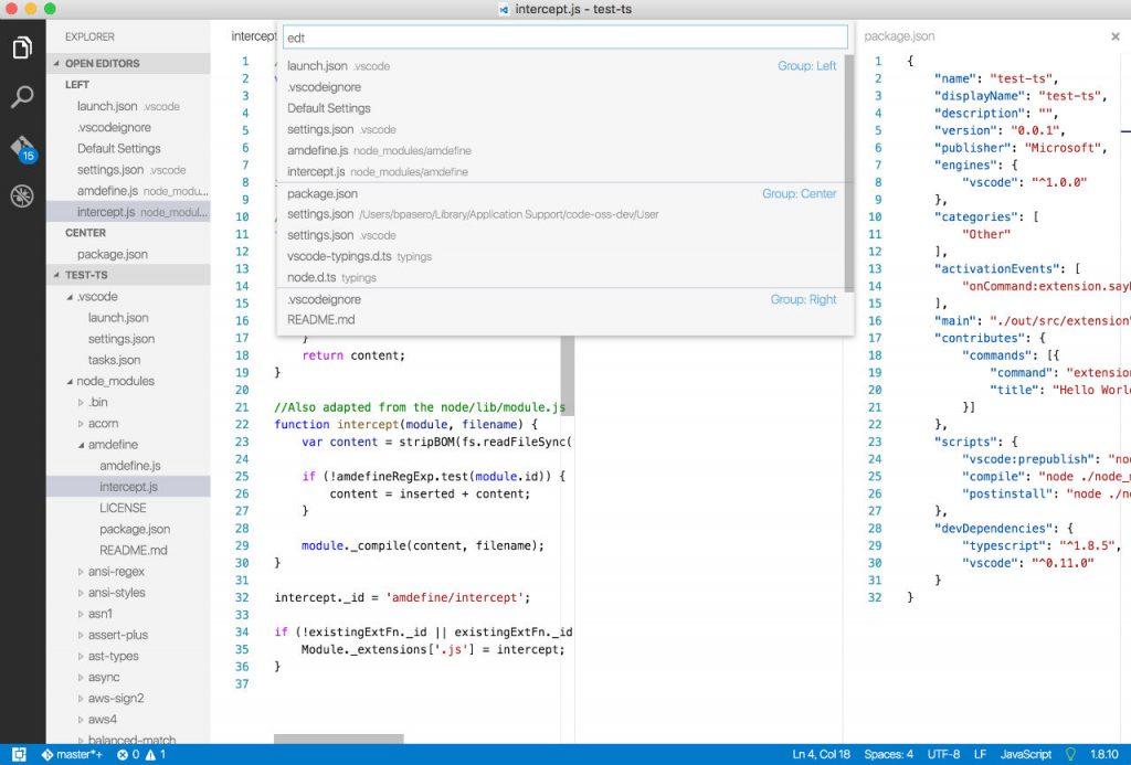 visual-studio-code-editor stacks-visual studio update