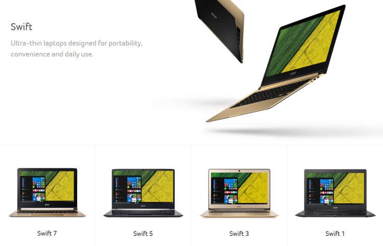 Acer-Swift-Range-Official