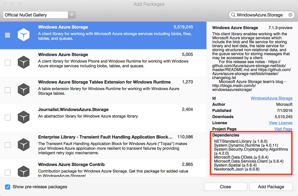 Azure-.NET-Xamarin-Official-Preview